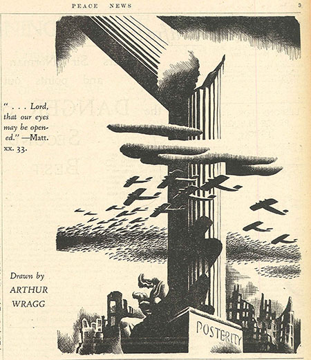 Graphic from Peace News, 13th February 1937.