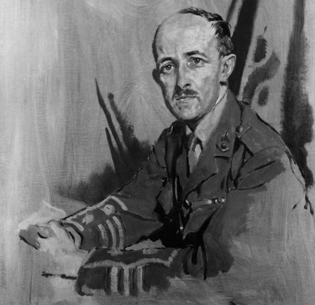 NPG 4650; Maurice Pascal Alers Hankey, 1st Baron Hankey by Sir William Orpen