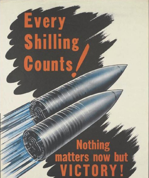 War savings poster